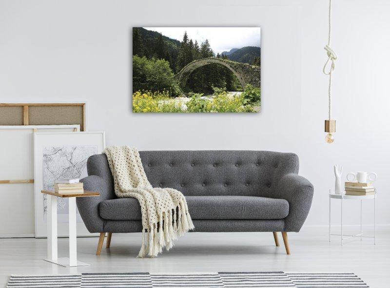 Rize Kemer Köprü Kanvas Tablo