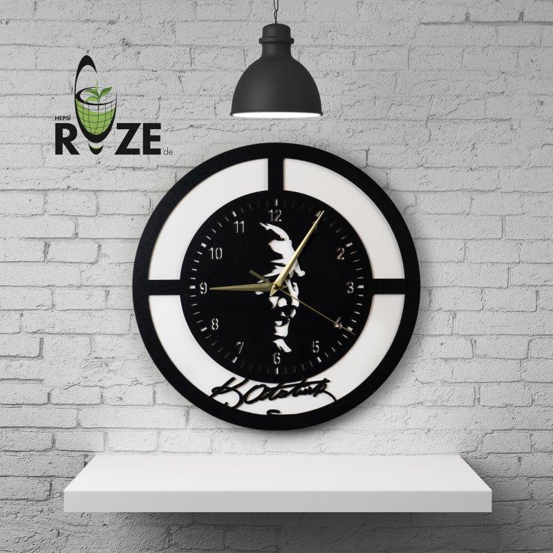 Atatürk İmzalı Duvar Saati