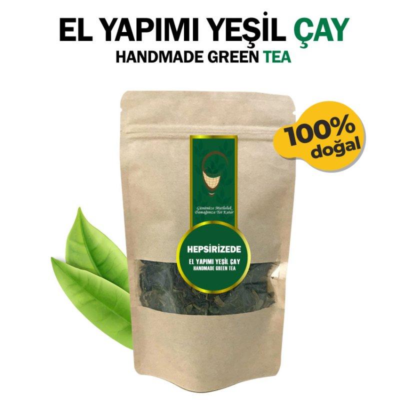 El Yapımı Yeşil Çay - 50 gr